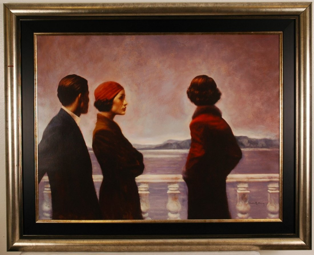 """4: Hamish Blakely """"Silence at Dawn"""" Signed & # Giclee"""
