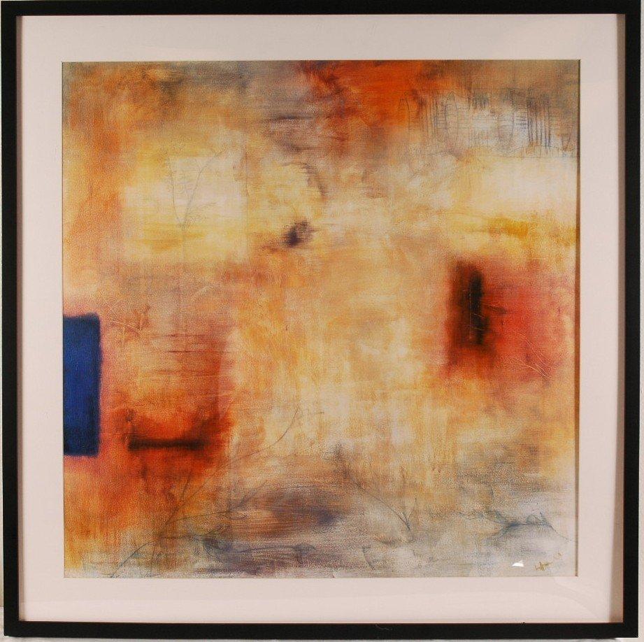 "19: Modern Giclee, Framed 33"" w x 33"" l"
