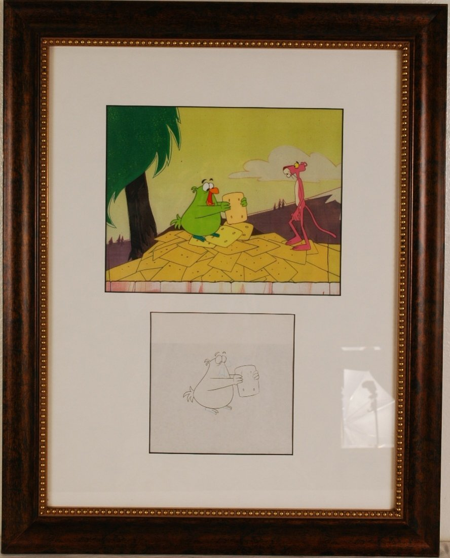 "21: Pink Panther"" Original Ltd Edition Serigraph Cel 21"