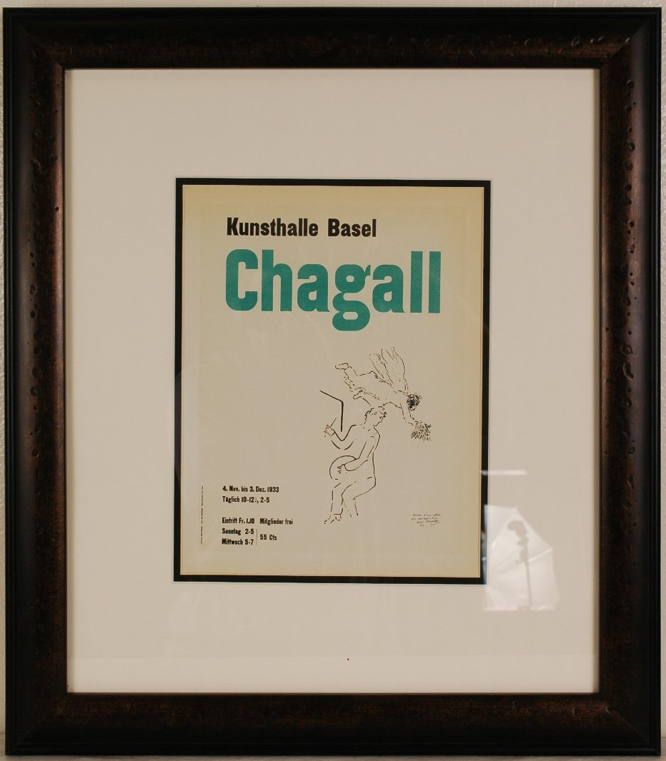 """24: Afeter Marc Chagall """"Kunsthalle Basel"""" 20"""" x 22"""""""