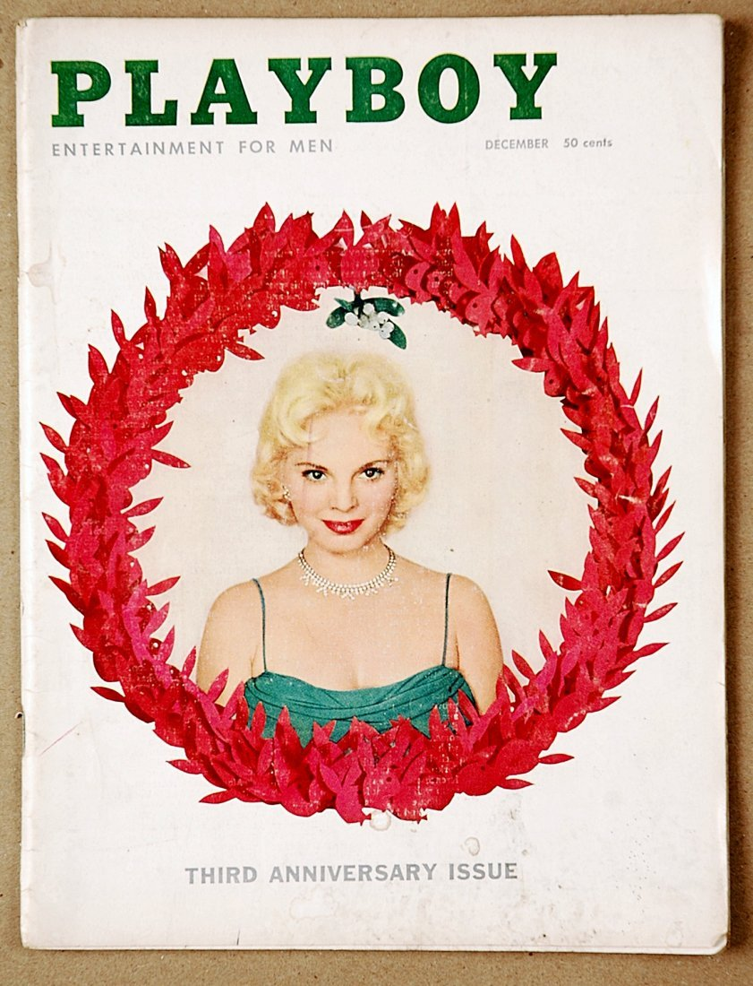 2: Vintage 1956 Playboy Magazine