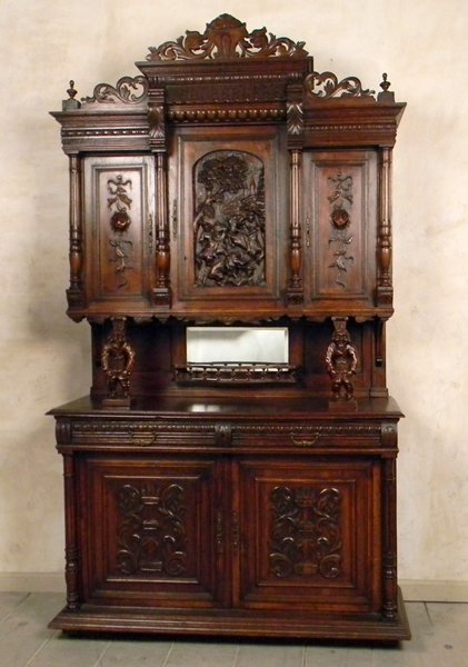 1: 1900's French Henry II Style Buffet