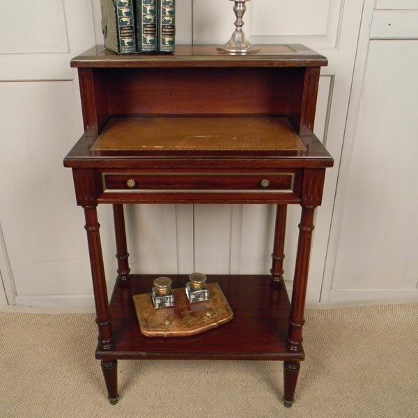 138: 1960's French, Louis XVI writing desk.