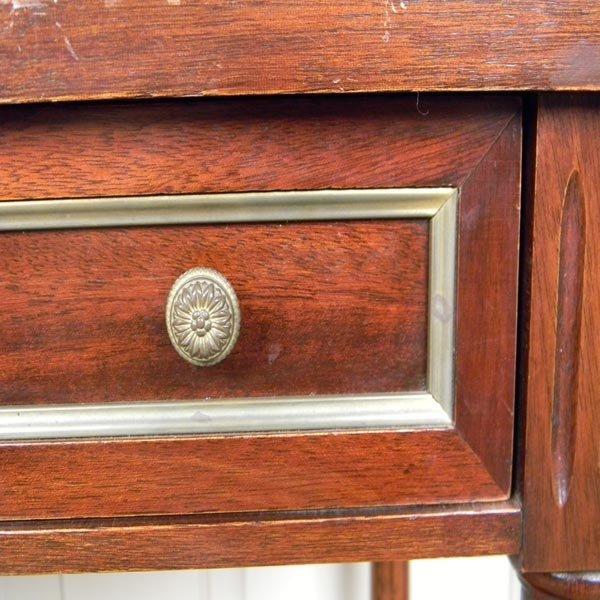 138: 1960's French, Louis XVI writing desk. - 2