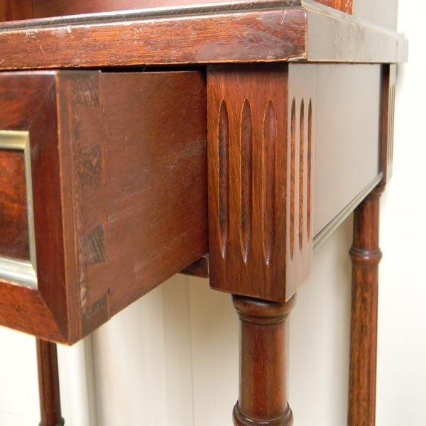 138: 1960's French, Louis XVI writing desk. - 4