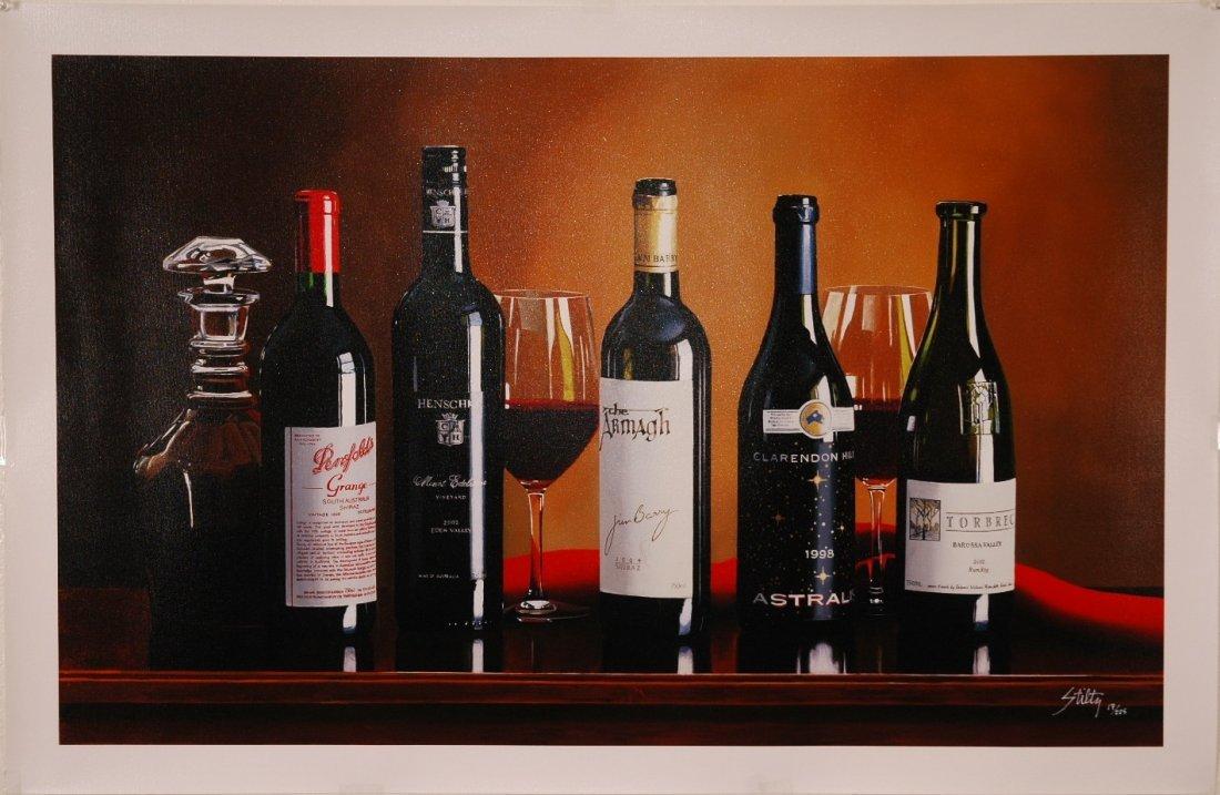 10A: Thomas Stiltz Signed Ltd Ed Giclee on Canvas