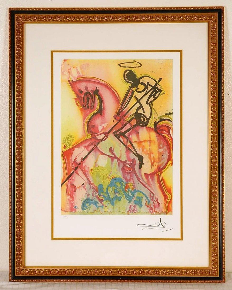"""Salvador Dali """"St George"""""""