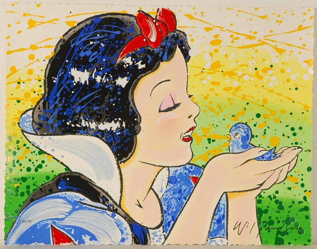 "David Willardson A Fine Feathered Friend"" hand signed"