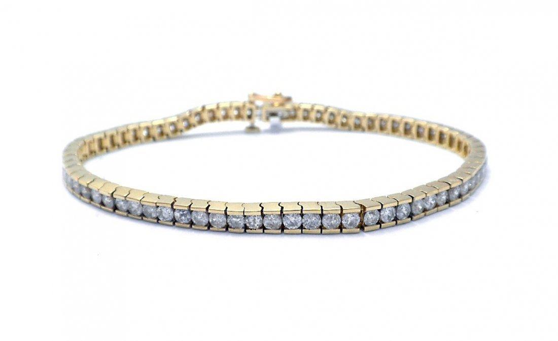 5.25 ct Diamond Tennis bracelet
