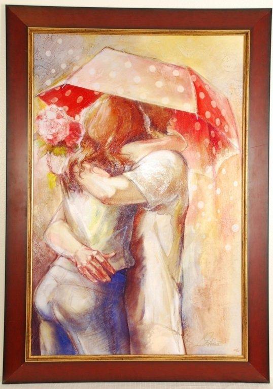 "Lena Sotskova ""Under the Umbrella 3"" Hand Signed"