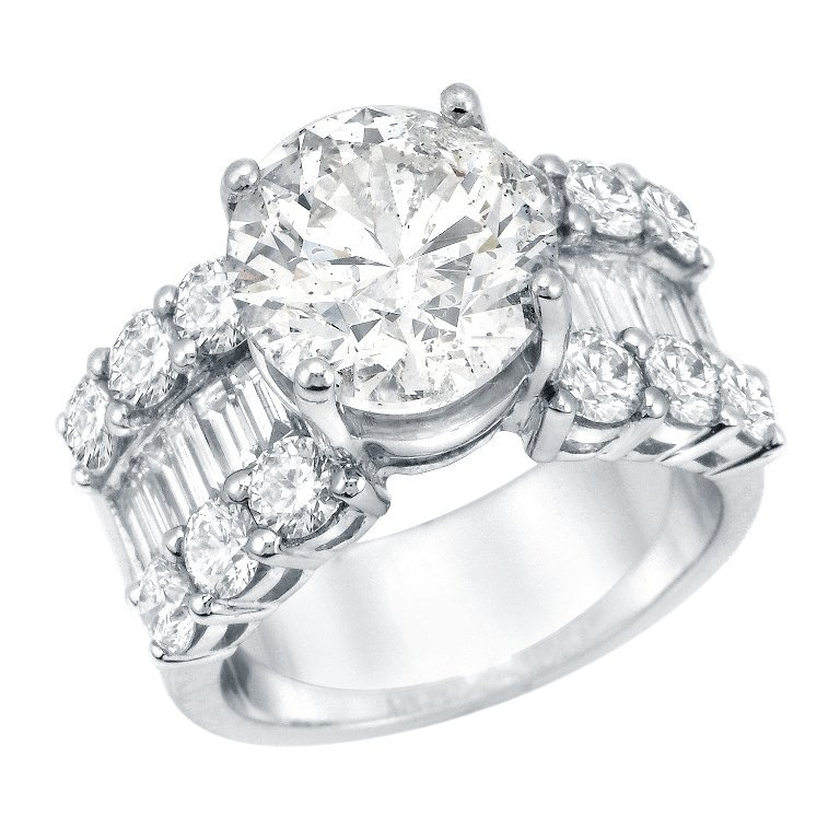 6.77 Diamond Ring