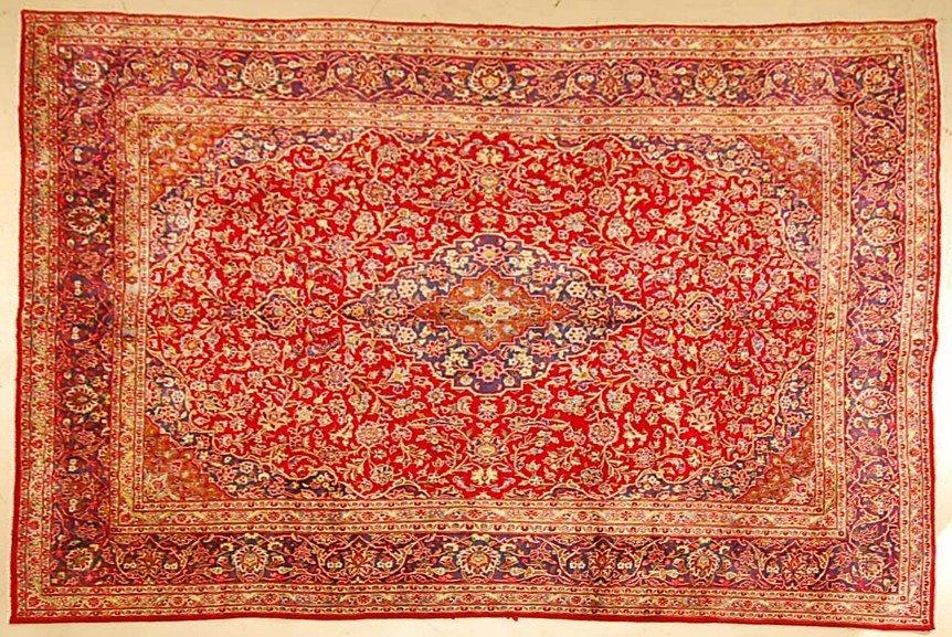 Handmade Persian Wool Rug 12' x 9.5'
