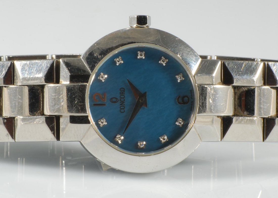 Concord La Scala Women's Watch With Blue Mother-Of-Pear