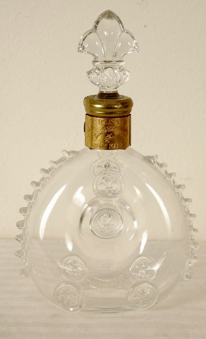 Baccarat Crystal Liquor Bottle Louis XIII Remy Martin