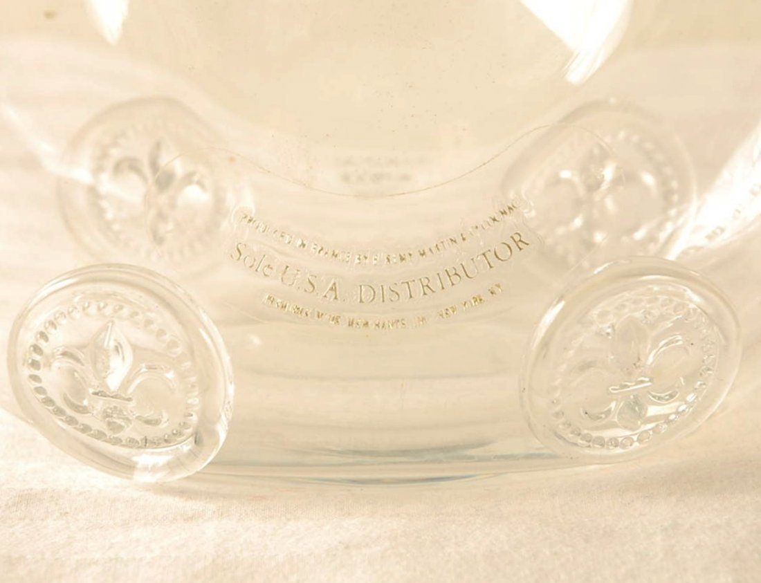 Baccarat Crystal Liquor Bottle Louis XIII Remy Martin - 2