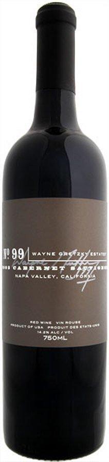 2005 Wayne Gretzky Estates Napa California Cabernet Sau