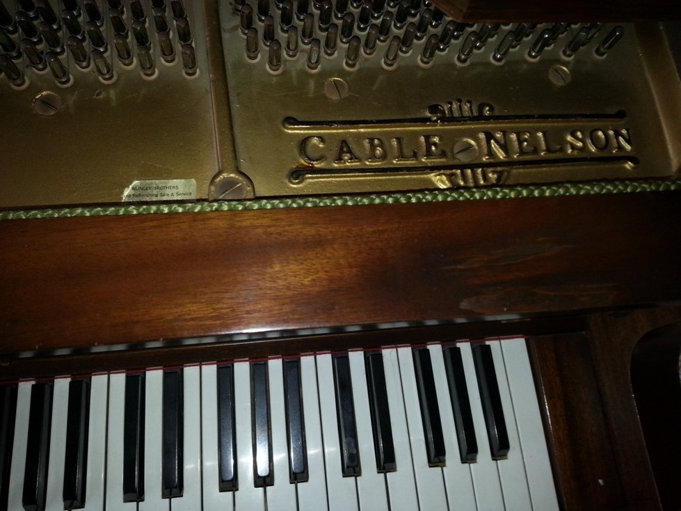 Cable-Nelson Baby Grand Piano - 2