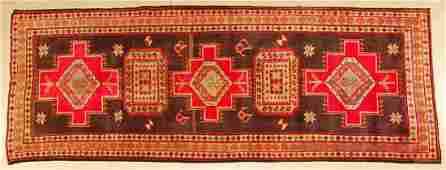 Persian Kashan Handmade Rug 112 x 43