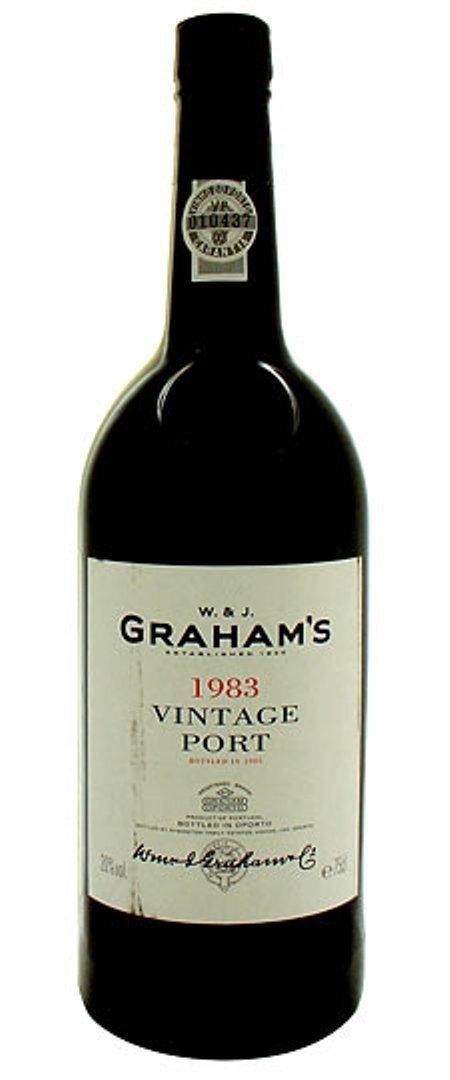 1983 Graham's Vintage Port, Portugal
