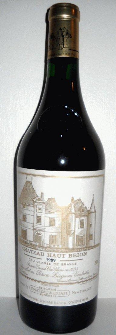 Pair of 1989 Chateau Haut-Brion Bordeaux Blend, France