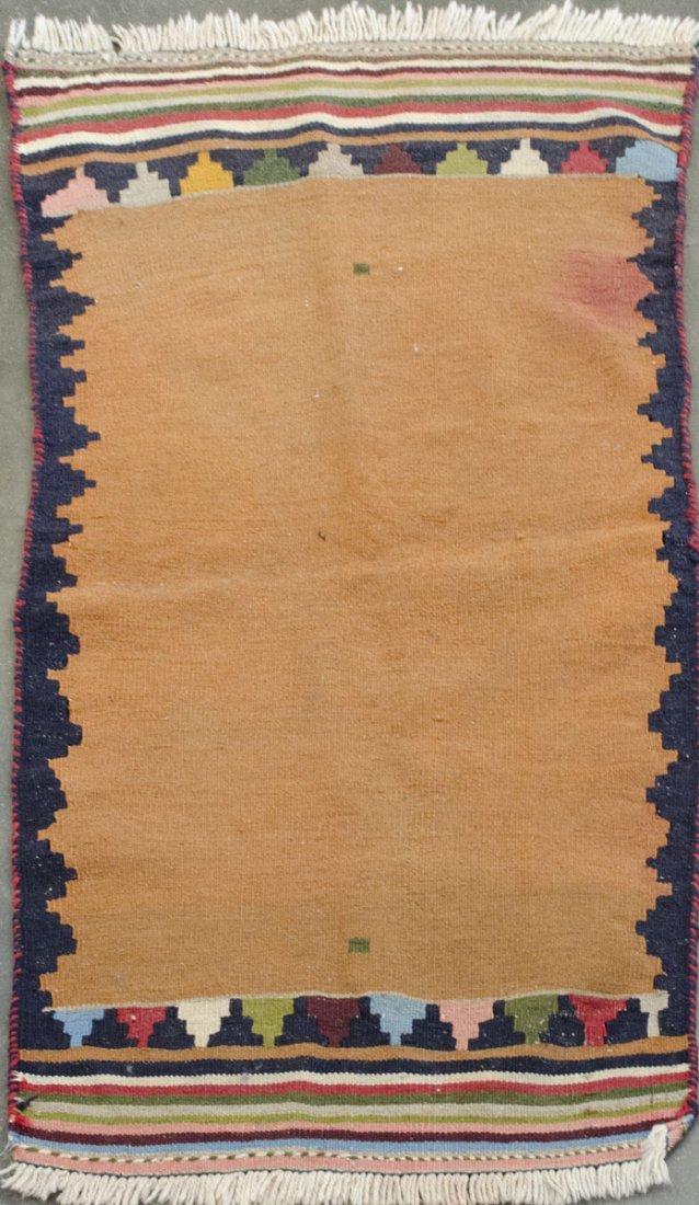 """Handmade Vintage Kilim 2' 4""""in x 4' 6"""""""