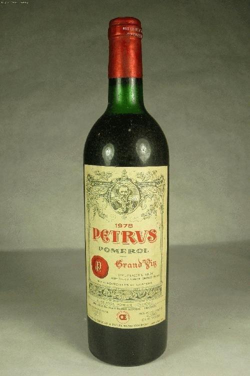 1 Bottle of 1978 Petrus Pomerol Bordeaux Blend, France