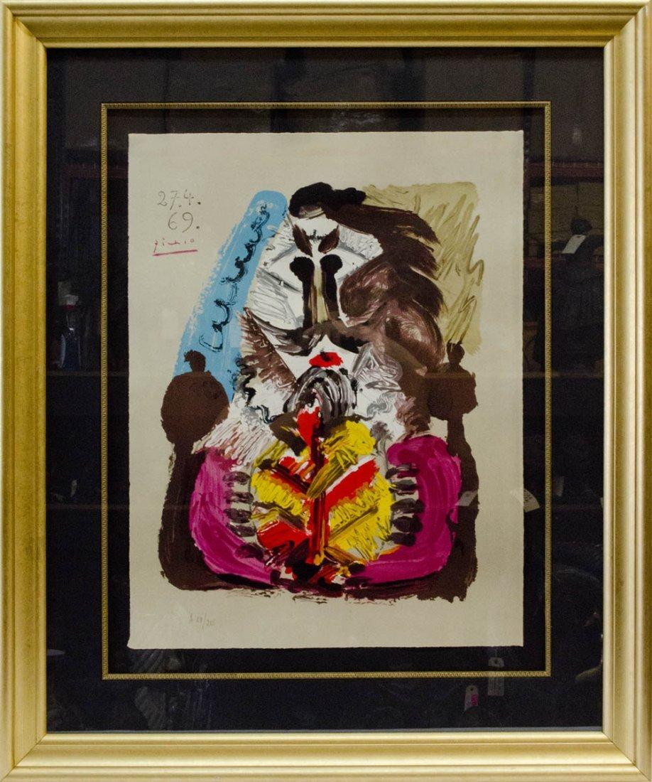 """Pablo Picasso From """"Les Portraits Imaginaire"""""""