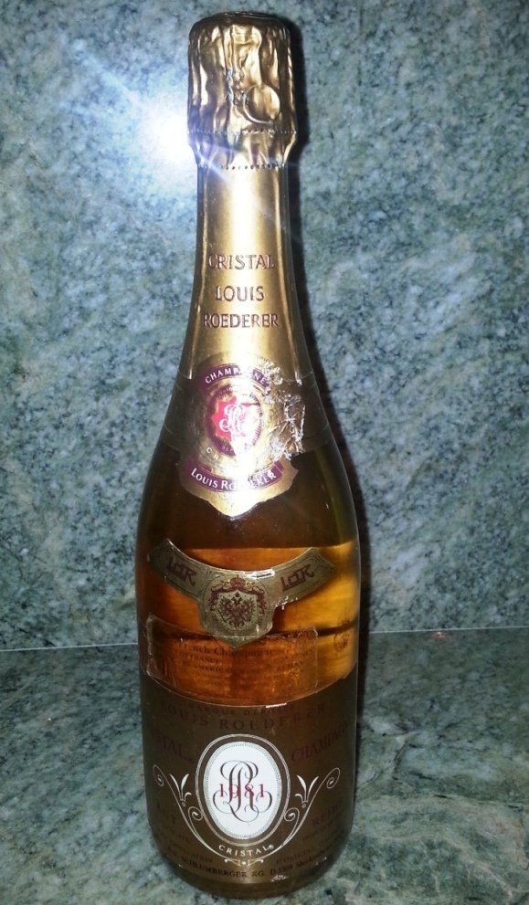 1981 Cristal Champagne