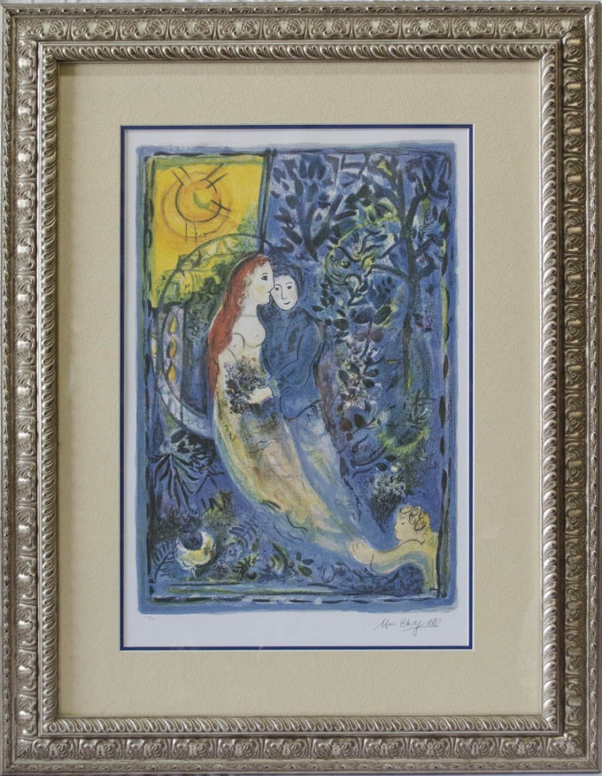 "Marc Chagall ""The Wedding"" Ltd Ed Lithograph"