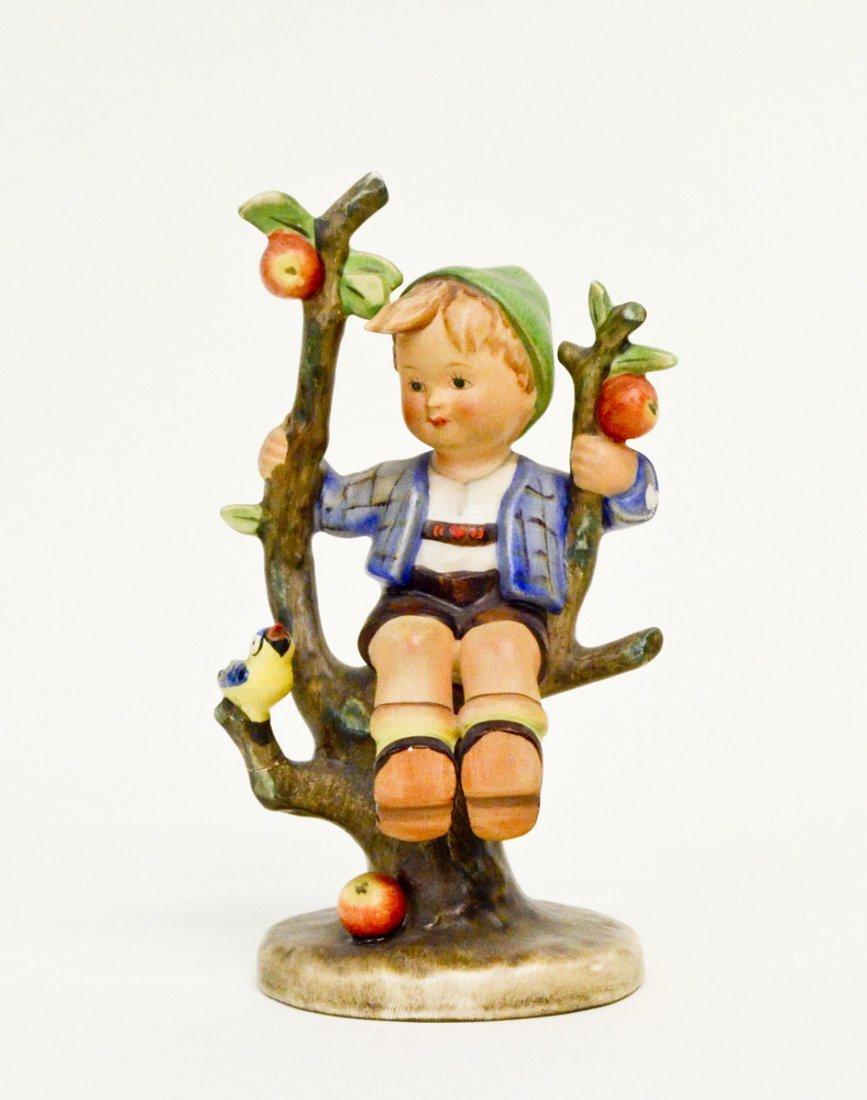 """Hummel Figurine """"Apple Tree Boy"""" 7""""H"""