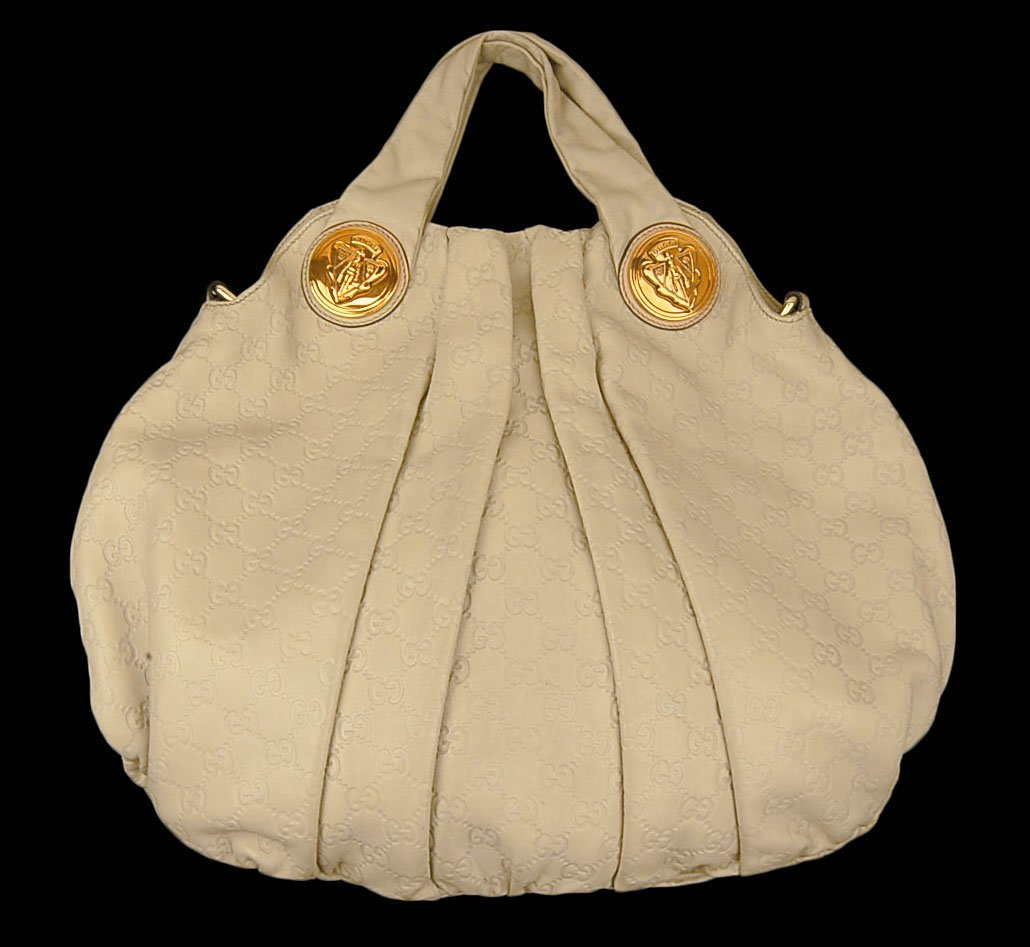 GUCCI Hysteria  Bag w/ 2 Large Gold Medallion