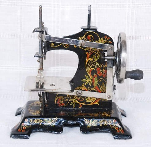 Vintage Mini Sewing Machine Made in Germany