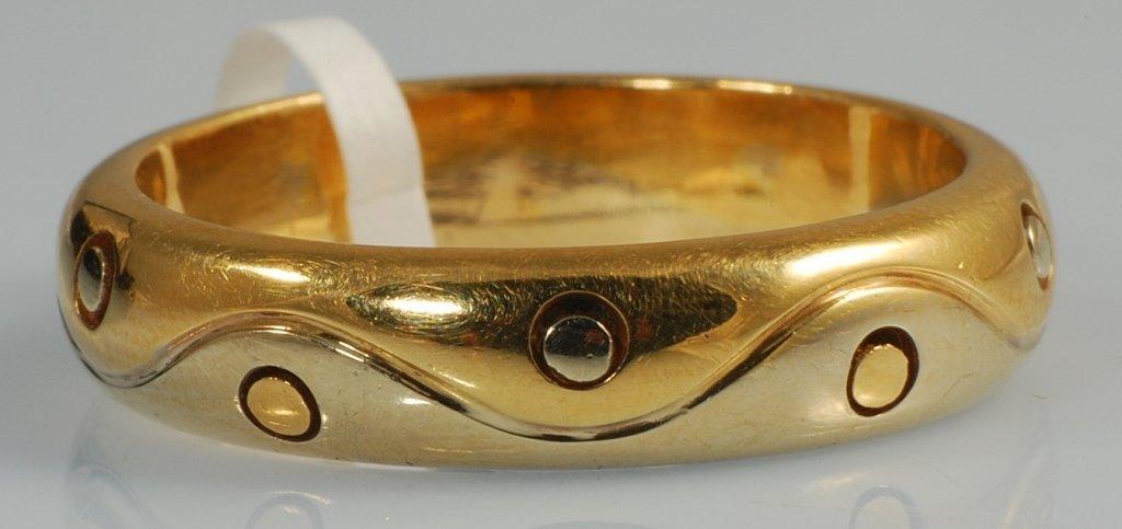 Bvlgari Gold Ring Bvlgari band in 18K yellow gold