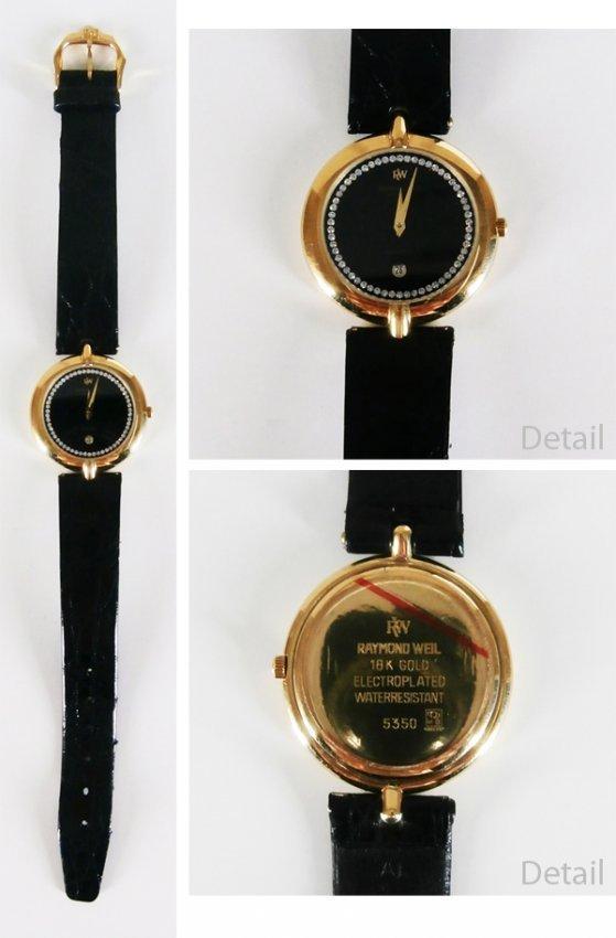 18k Raymond Weil Watch