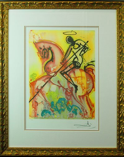 "Salvador Dali ""Saint Georges"""