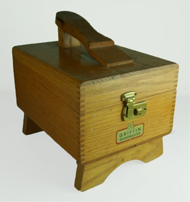 GRIFFIN SHINEMASTER SHOE SHINE BOX