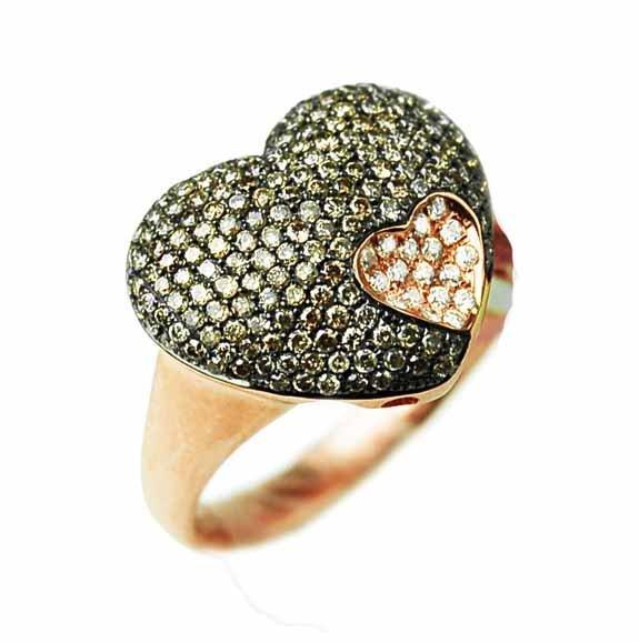 0.76 ct Diamond Ring 18K Gold