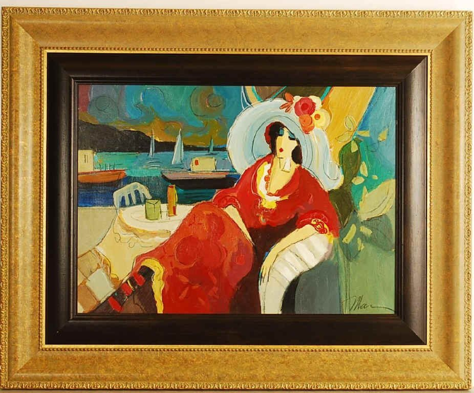 Isaac Maimon, Original Acrylic on Canvas