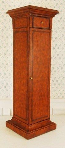 """Wood Pedestal / Cabinet 44""""h"""