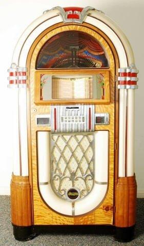 Wurlitzer restored by Antique Apparatus Jukebox