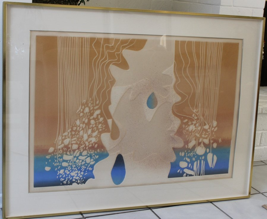 Shirley Eisman, Cofetti, Signed Color Lithograph