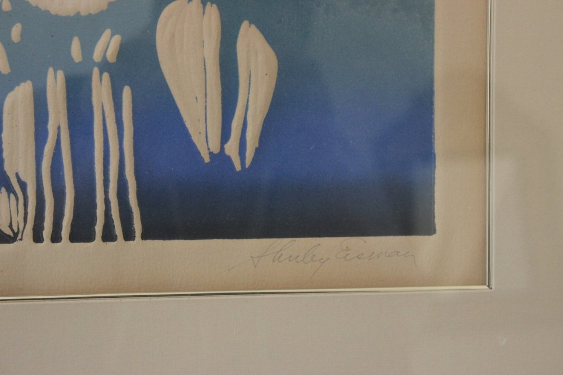Shirley Eisman, Cofetti, Signed Color Lithograph - 3