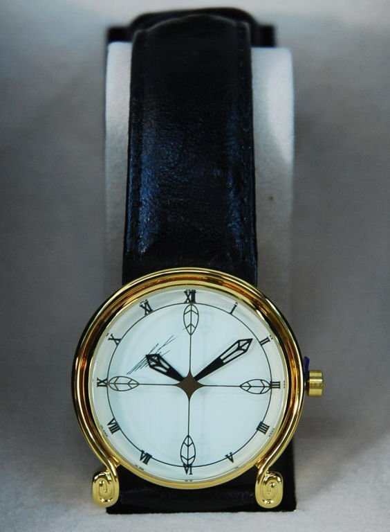 Erte SIGNATURE Art Deco Wrist Watch Brand NEW