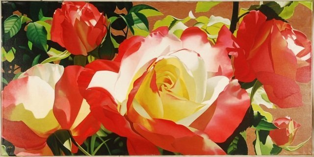 """Brian Davis """"Visions of Love"""" Floral Hand Signed"""