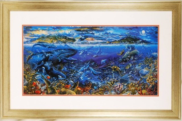 """Robert Lyn Nelson """"From Sea to Shining Sea"""" Signed"""