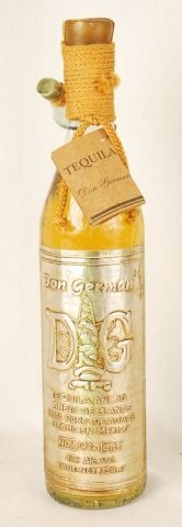 Bottle of Don German Tequila