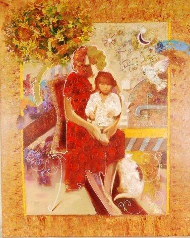 Sabzi, Memories, Ltd Ed, Hand Signed & Embellished