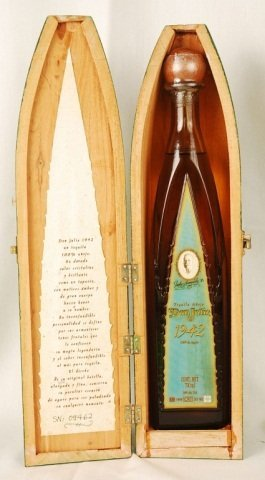 Bottle of Don Julio 1942 Tequila