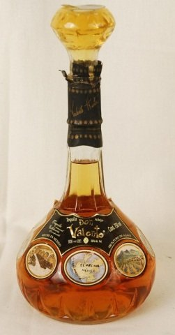 Bottle of Don Valente Tequila