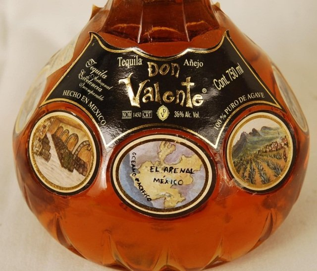 Bottle of Don Valente Tequila - 2